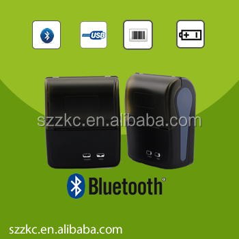 80mm bluetooth mini printer for laptop,wireless bluetooth printer,with Rechargeable lithium battery
