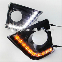 2014 year Corolla LED DRL LED Fog Daytime Running Light