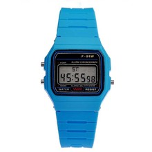 Leisure fashion jelly electronic watches Boys and girls students watch Sport multicolor wholesale led watches