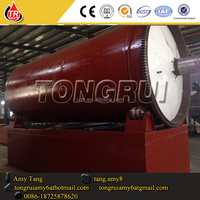 Tongrui DDR series waste engine oil to diesel fuel oil machine, petrol refinery plant