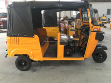 CNG/Gasoline/Electric Compact Tuk Tuk Bajaj Tricycle