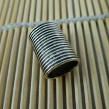 21*15.5mm Anitque Silver Color Plated Metal Tube Beads more fashion type factory support direct