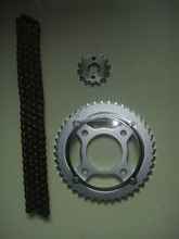 Motorcycle parts Transmission Kits / Drive Brazil Chain Sprocket kits for Brasil HONDA CG 125 TITAN 00/KS/ES/CARGO