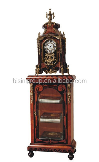 Bisini Antique Style Electric Wooden Table Clock BG500105
