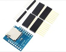 WeMos D1 Mini SD Card Shield for D1 Mini WiFi ESP8266 TF Card Module With Pins