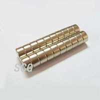 Diametrically magnetized cylinder neodymium magnet D10X10MM