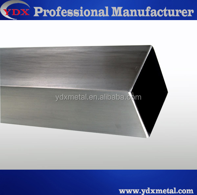 201, 304 stainless steel square tubes for decoration
