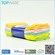 household kitchen cleaning 80%polyester and 20%polyamide warp knitting terry cloth , microfiber cleaning cloth