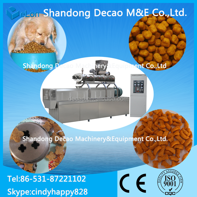 Factory Directly pet food processing line
