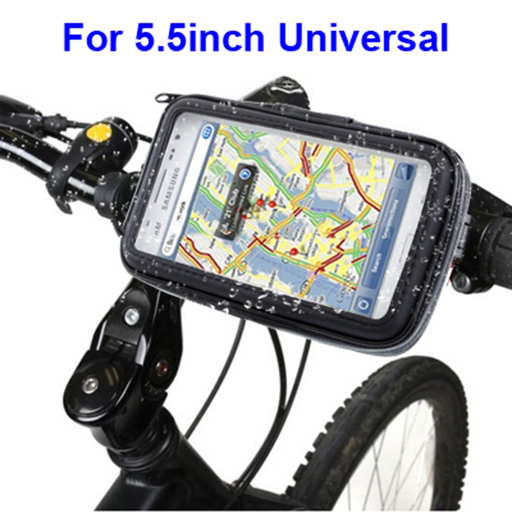 For iPhone SE Waterproof Case Muti-Fuctional Bicycle Mount Touch Case for 5.5inch Smart Phone Bike Mount Holder Case for iPhone