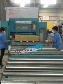 High quality Inexpensive Stainless steel rock wool sandwich panel for cold room rock wool panels roof