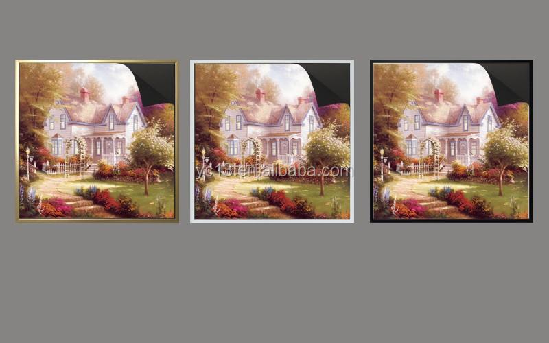 updating art magnetic frame & print magnetic painting Thomas kinkaides painting