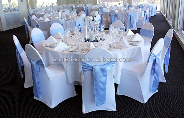 Wgole Make Bow Blush Satin Chair Sashes