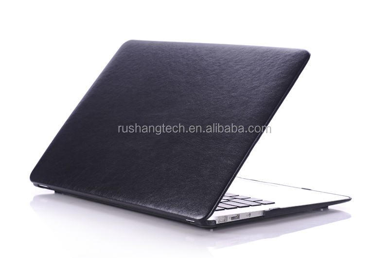 Leather laptop case for macbook Air 13 case