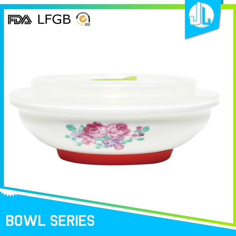 Home kitchen useful cheap ceramic serving bowls with lids