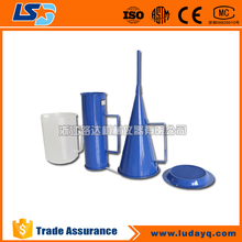 Mud viscosity testing equipment