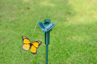 flying butterfly toys solar dancing butterfly, solar swing flip flap dancing butterfly, garden decorative gift