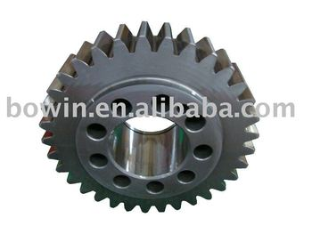 Gear with Teeth Grinding