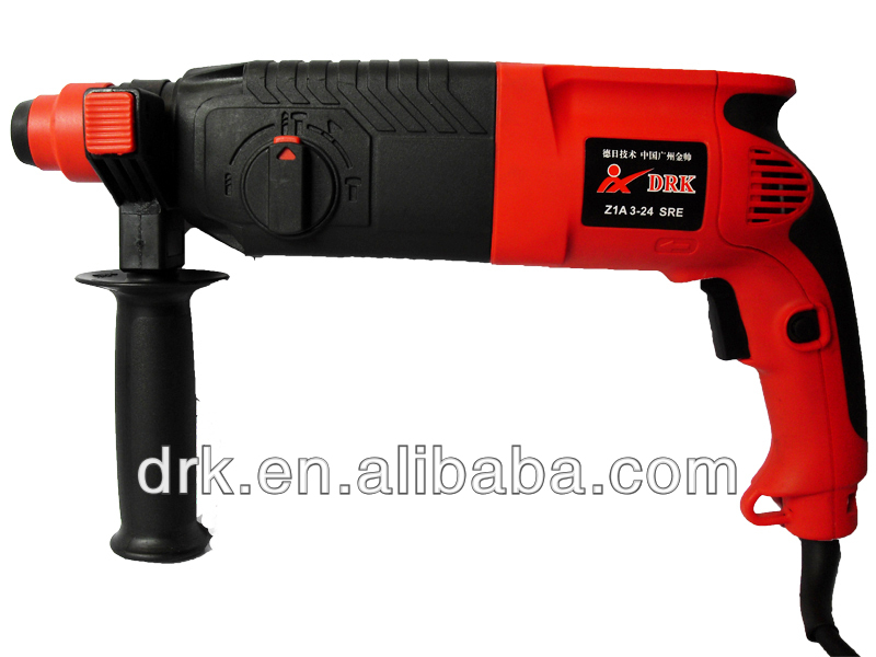 500W Portable China Manufacturer Electrical Construction Tools Electric Driver Rock Drill Power Tool Kits