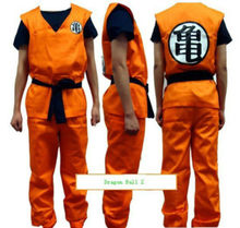 Anime Dragon Ball Z GoKu Cosplay Kostüm Set Fantezi Parti giyim
