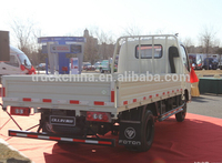 China 4x2, 4x4 MINI FOTON cargo Truck 3 tons with Good price For Sale