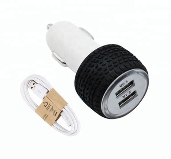 Rocket Car Charger For Gps With Charging Cable