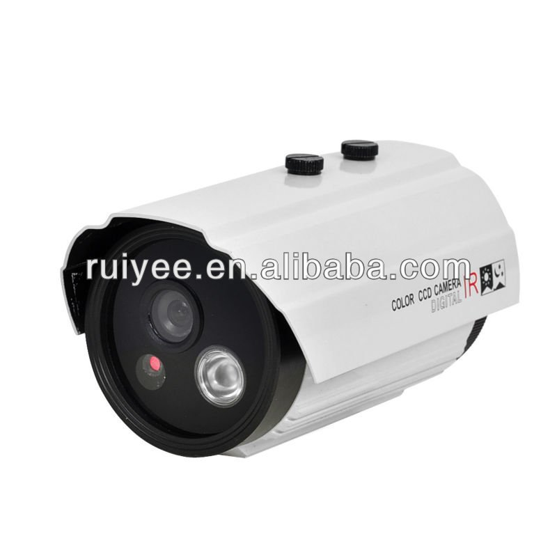 RY-7511 Array Led Waterproof 1/3 Sony CCD 600TVL CCTV Camera