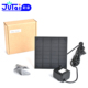 Low noise more than 30000 hours life DC solar submersible fountain water circulation pump with solar panel