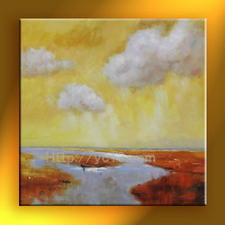 High quality abstract oil painting