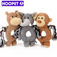 Pet training plush pet toys