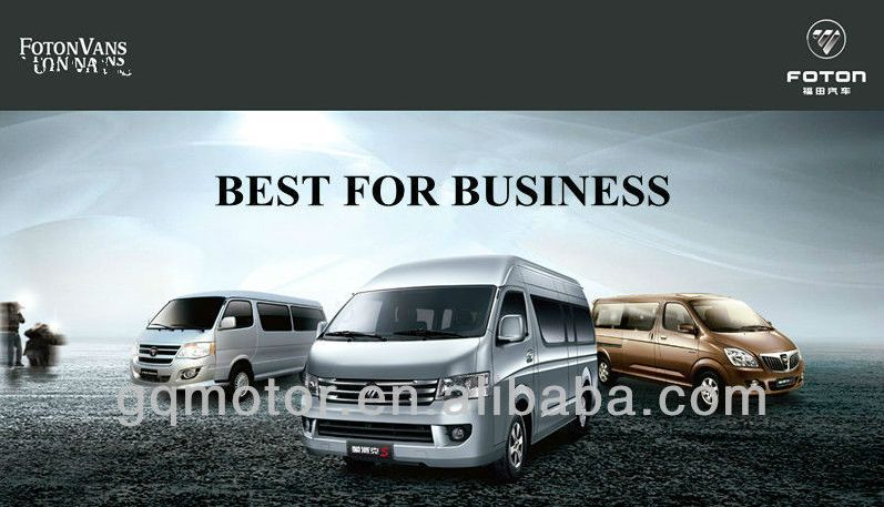 Foton View Van/ Mini Bus/passenger car /parts