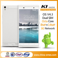 Android smartphone manufacturer octa-core 5.5 inch Kingzone K1