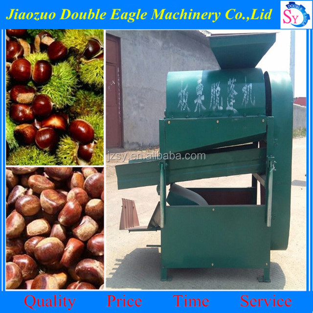 China professional supplier electric chestnut skin peeling machine/chestnut opening machine for sale