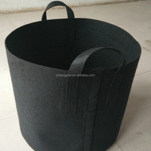 Vertical planter felt grow bag with many pockets