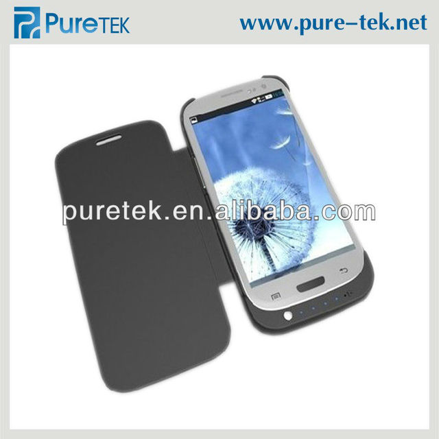 battery charger for galaxy s3 power case,3200mAh for samsung galaxy s3 external battery case cover