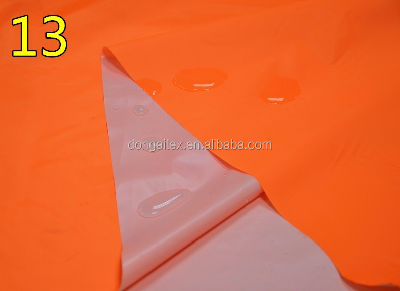 Thin and light cheap waterproof raincoat fabric