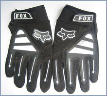 good quality stretchable full finger bicycle gloves