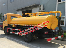 Sludge Suction Truck 8cbm to 12cbm Vacuum Fecal Tank Truck Export to Bolivia