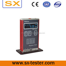 Surface roughness gauge for testing surface roughness