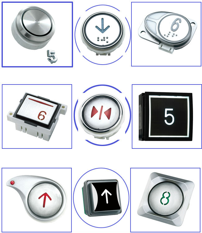 High performance elevator floor buttons