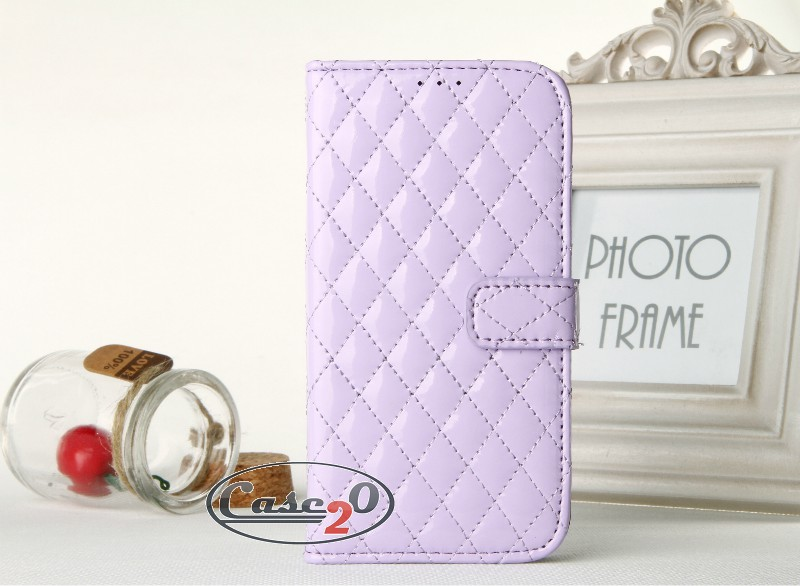 Samsung Galaxy S4 Padded Leather Flip Case