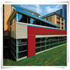 Rich color durable decorative outdoor wall panel