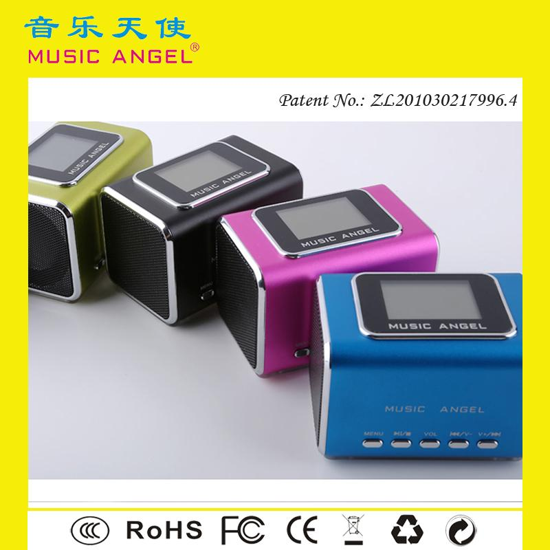 MUSIC ANGEL JH-MD05X amplifier tube hifi mini speaker mp3 player with earphone function
