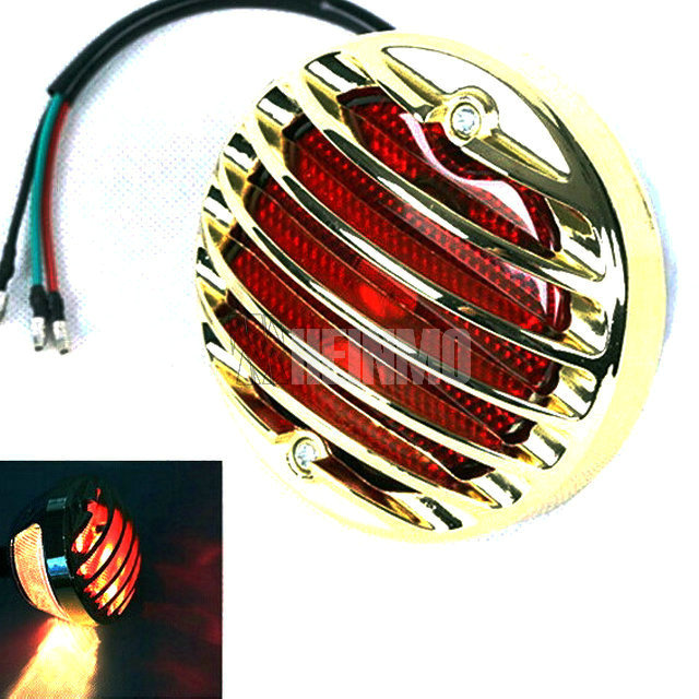 Aftermarket Motorcycle Tail Light for Sportster Bobber Chopper 3 color