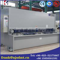 Globall Reputation Delem Design cnc hydraulic metal plate shearing machine