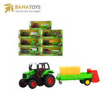 Diecast alloy vehicle model toy farm tractor
