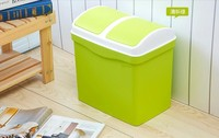 Hot sale durable beautiful household fashionable garbage trash can