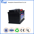 Korean Car Battery Manufacturer DIN68 DIN75 DIN88