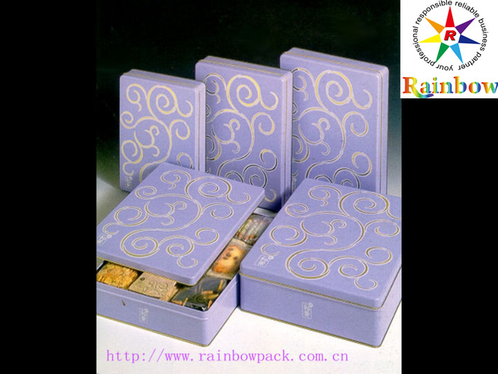 Purple Cosmetic Box Branded Gift Box