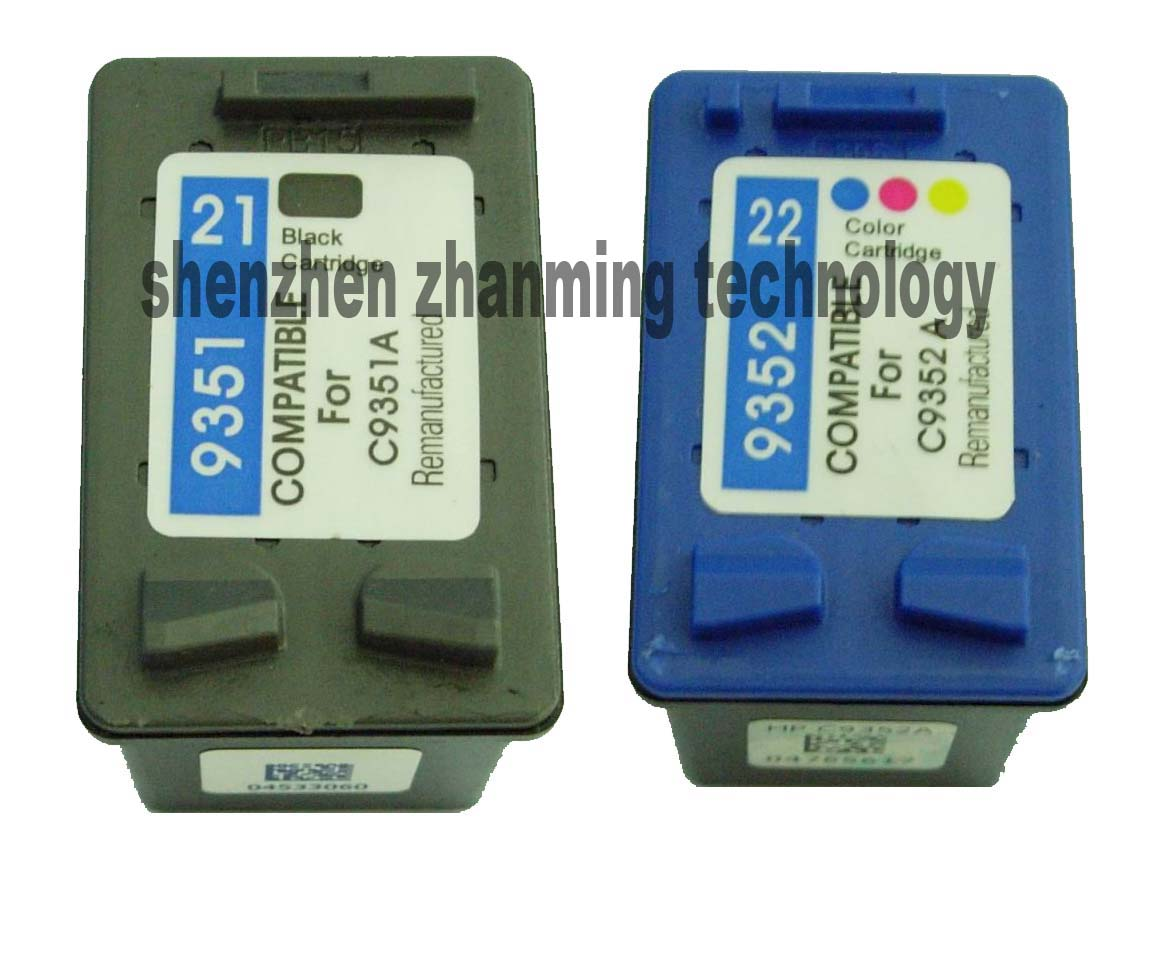 hot new Inkjet Cartridge used for Hp21 & Hp22